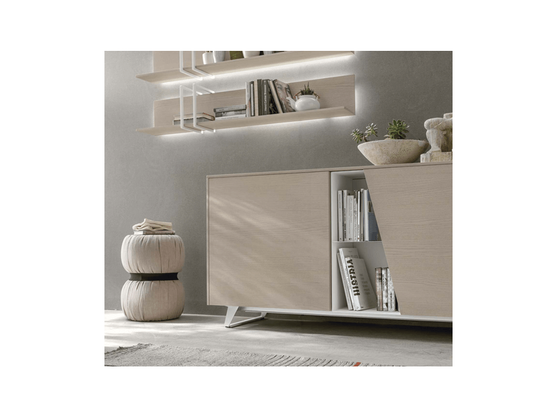 LUMEO GRIS CLAIR Lit 140x190