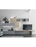 LUMEO GRIS CLAIR - Lit 140x190