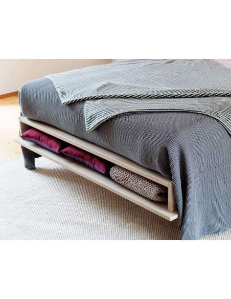 UNO - Tête de lit gris clair